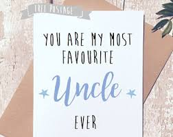card for uncle etsy