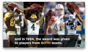 first thanksgiving nfl game turkey leg award is the best nfl football on thanksgiving