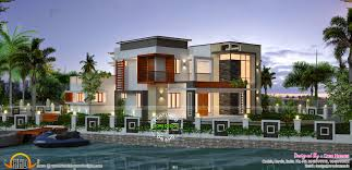 House Plans Waterfront Waterfront House Design Kerala Home Design And Floor Plans