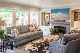 for the living room before after pops of color enliven a living room san diego