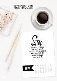 printable art calendar 2015 free 5x7 september 2015 calendar printable inspirational quote www