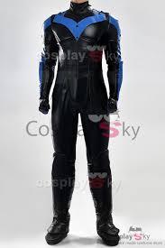 batman arkham city movie nightwing cosplay costume full set