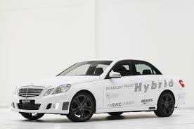 brabus hybrid mercedes benz e class is remarkably conventional