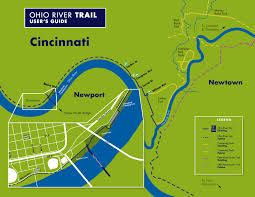 Central Ohio Map by Central Riverfront Park U2014 Urbancincy