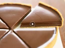jeux de cuisine tarte au chocolat la recette de la tarte au chocolat de frédéric anton femme actuelle