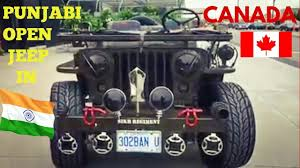 landi jeep punjabi open jeep in canada original willy jeep 4x4 custom willy