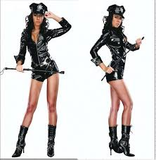 Lingerie Halloween Costumes Compare Prices Police Costumes Women Latex