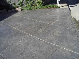 How To Resurface Concrete Patio Best 25 Stamped Concrete Driveway Ideas On Pinterest Stamped