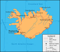 iceland map iceland map and satellite image