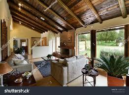 interior design series classic rustic living stock photo 113997229
