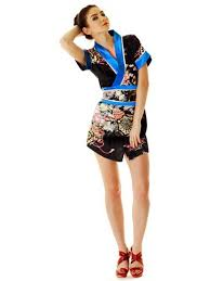 collection of modern kimono dress best fashion trends and models