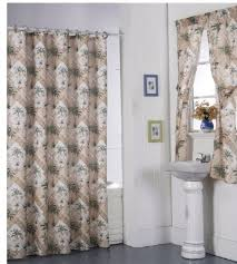 Curtains With Matching Valances Wonderful Matching Shower And Window Curtains And Interesting