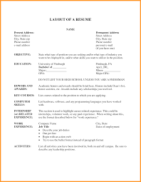 Resume Style Examples by Unbelievable Resume Layout Examples 16 Examples Of Resumes Acting
