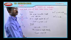 samacheer 8th maths term 01 unit 03 geometry youtube
