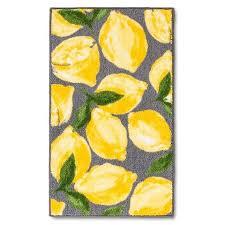 Yellow And Grey Kitchen Rugs 212 Best Lemon Theme Kitchen Images On Pinterest Lemon Custom