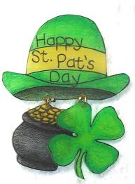 homemade st patrick u0027s day greeting card idea with nice hat and
