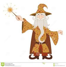 wizard costume wand wizard casting spell with magic wand stock photos image 30816163