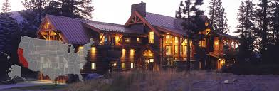 california log and timber frame homes by precisioncraft