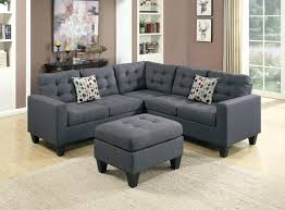 Palliser Theater Seats Palliser Viceroy Sectional Rousey Brown Fabric Sofa And Ottoman