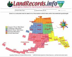 Alaska Records Search Using The Dnr Alaska Land Records