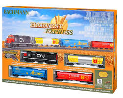 bachmann harvest express set in ho model railroad news
