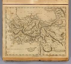 Asia Minor Map by Ancient Turkey Map Anatolia Map Historical Biblical Anatolia Map