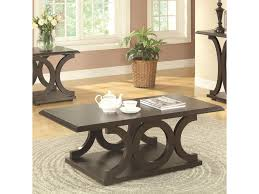 value city coffee tables and end tables coaster 703140 c shaped coffee table value city furniture