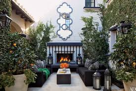 Outdoor Fireplace Surround by Outdoor Fireplaces To Keep You Warm No Matter The Season Photos