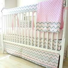 Pink Chevron Crib Bedding Pink And Grey Nursery Bedding Pink Chevron Crib Bedding Nursery