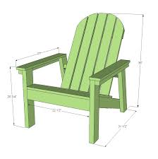 ana white 2x4 adirondack chair plans for home depot dih workshop