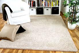 Schlafzimmer Teppich Taupe Hochflor Langflor Shaggy Teppiche In Beige Und Naturfarben