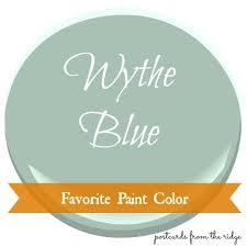 blue benjamin moore favorite paint color benjamin moore wythe blue postcards from