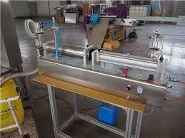 Sho Syoss syoss shoo filling machine strpack machinery