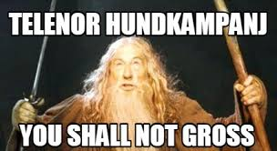 Memes Gross - meme creator telenor hundkanj you shall not gross