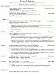 Best Resume Samples For Admin by Examples Of A Good Resume Template Learnhowtoloseweight Net