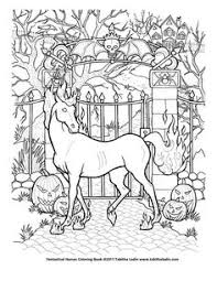 instant download halloween coloring pages art color halloween