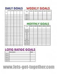 goal setting worksheet download habit u0027s make or break em