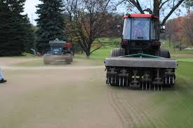 meadowbrook country club golf course maintenance deep tining