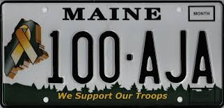 Pa Vanity Plates Maine Secretary Of State Kids Maine Government License Plates