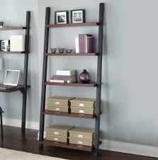 Leaning Shelf Bookcase Furniture Home Avdala Bookcase White Pe S Modern Elegant 2017