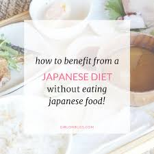 how to eat healthy like the japanese without eating japanese food