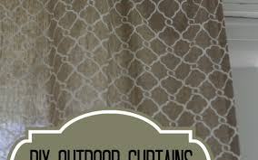 Sunbrella Outdoor Shower Curtains by Curtains Outdoor Curtain Rods Wonderful Canvas Outdoor Curtains