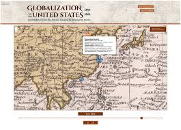 1861 Map Of The United States by Mapping History Reflections On The Globalization Of The United
