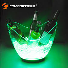 Led Light Bar Color Changing by Aliexpress Com Buy 4l Waterproof Plastic Led Ice Bucket Color
