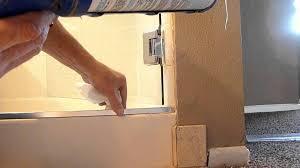 Shower Door Sweep Replacement Parts Shower Door Bottom Seal Replacement Parts Bed And Shower