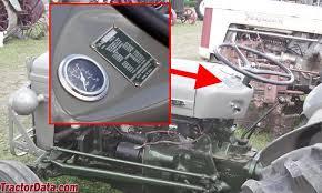 tractordata com ferguson to 35 tractor information