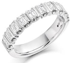 half eternity ring baguette diamond half eternity ring hetcc1360 01 677 8449