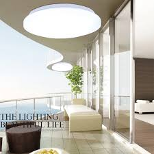 Kitchen Lighting Flush Mount by 24w Round Led Ceiling Light Flush Mount Fixture Bedroom Living