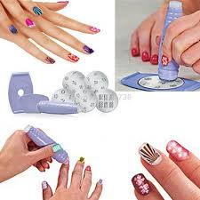 nail art set beautify themselves with sweet nails