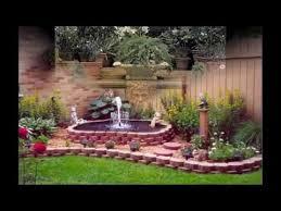small garden fountain ideas youtube